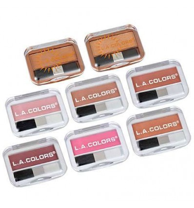 L.A. Colors Expressions Bronzers and Blushes
