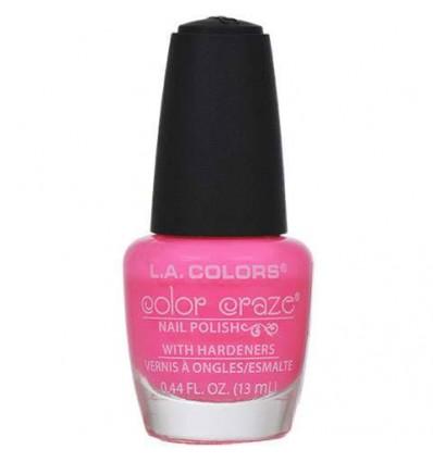 L.A. Colors Color Craze Pink Bubbles Nail Polish, .44 oz.