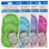 Microfiber Spa Facial Scrubbers, 3-ct. Packs