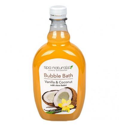 Spa Naturals Vanilla and Coconut Scented Bubble Bath, 24-oz. Bottles