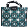 Large Laminated Mandala Fashion Tote Bags