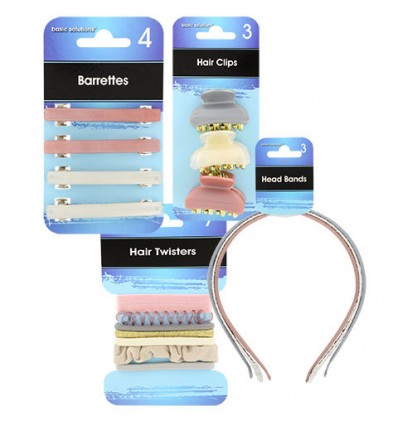 Basic Solutions Assorted Hair Accessories