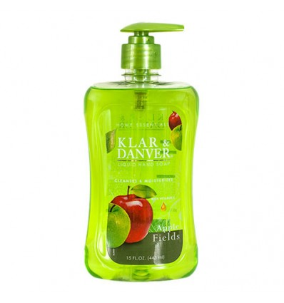 Klar & Danver Apple Fields Liquid Hand Soap, 15-oz. Bottles