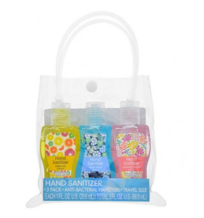 Travel-Size Scented Hand Sanitizer, 3-ct. Packs