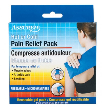Hot or Cold Reusable Pain Relief Packs