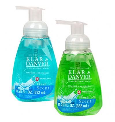 Klar & Danver Fresh Scent Foaming Hand Wash, 11.25-oz. Bottles