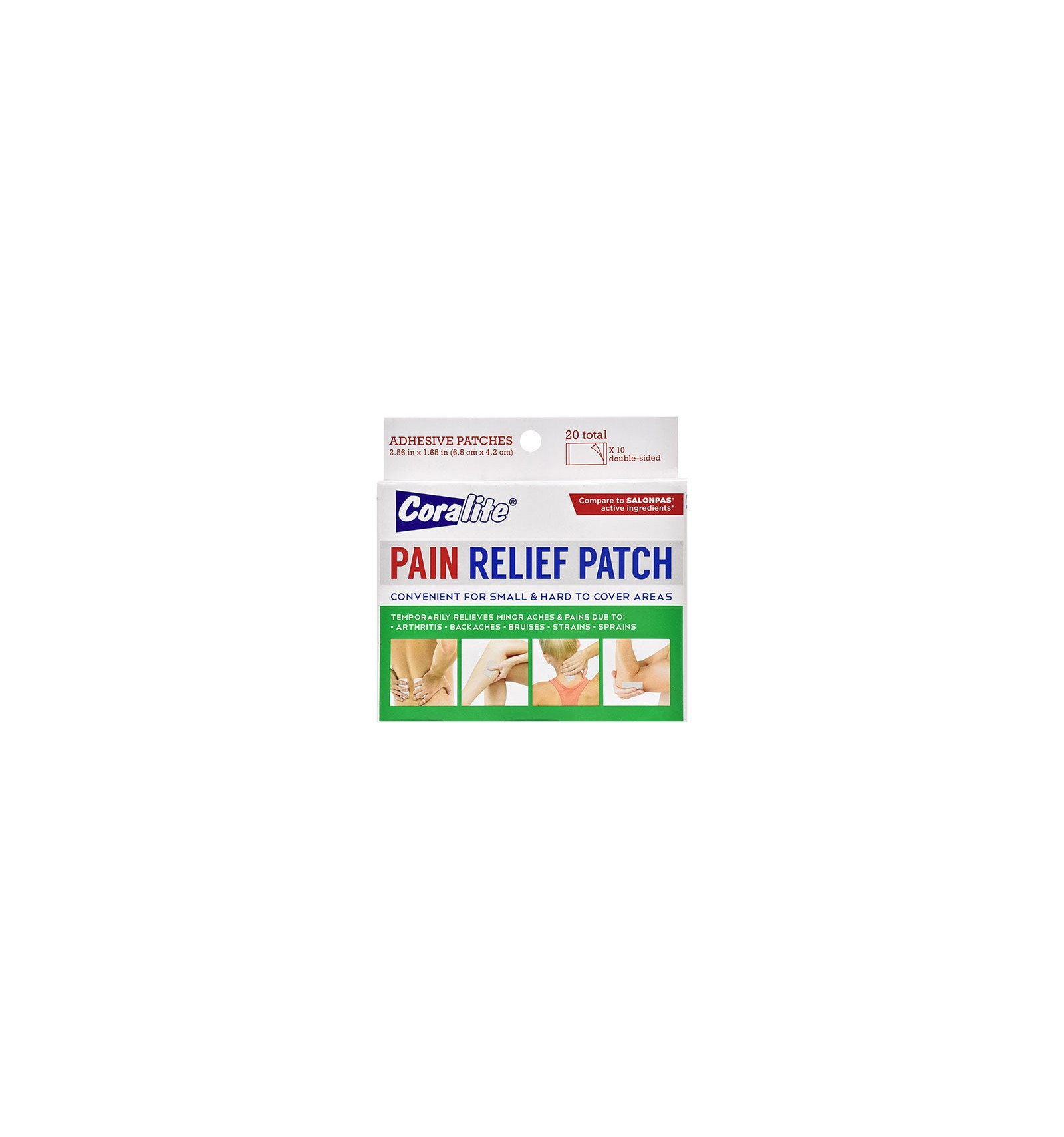 Coralite Pain Relief Patches 20 Ct Packs