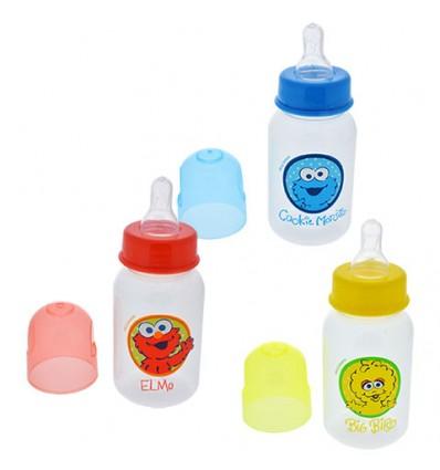 Sesame Street Sesame Beginnings Plastic Baby Bottles