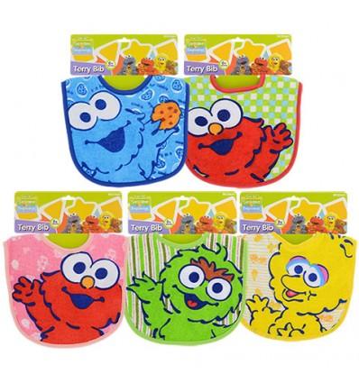 Sesame Street Sesame Beginnings Terry Baby Bibs