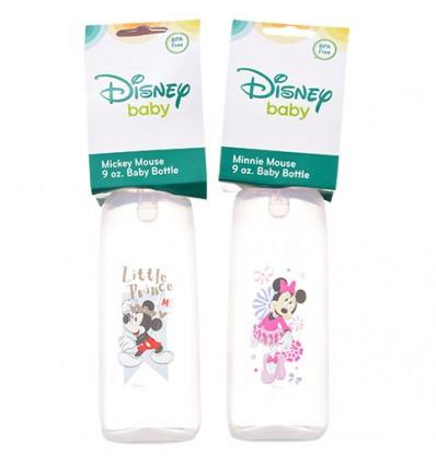Disney Baby Plastic Baby Bottles, 9 oz.