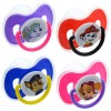 Nickelodeon Paw Patrol Plastic Pacifiers with Covers