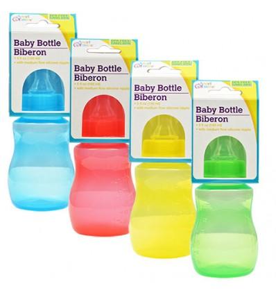 Angel of Mine Translucent Baby Bottles, 5 oz.