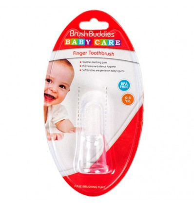 Brush Buddies Baby Care Finger Toothbrushes