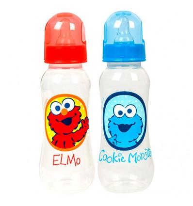 Sesame Street Sesame Beginnings Plastic Baby Bottles, 9-oz. Bottles