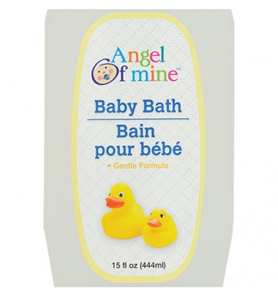 Angel of Mine Baby Bath, 15-oz. Bottles