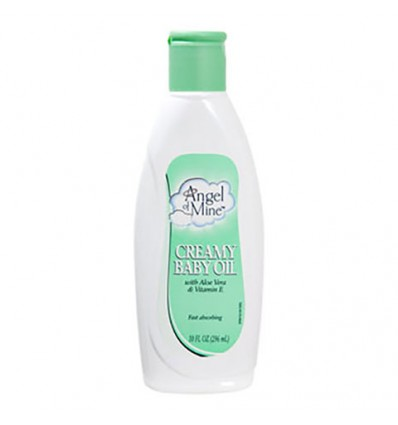 Angel of Mine Creamy Baby Oil, 10-oz. Bottles