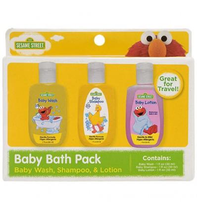 Sesame Street Baby Bath Packs, 3-pc. Sets