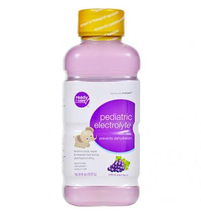 Pediatric Electrolyte Grape Flavor with Zinc, 16.9 oz.