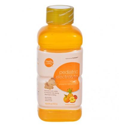 Pediatric Electrolyte Fruit Flavor with Zinc, 16.9 oz.