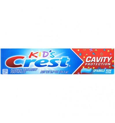 Crest Kids Cavity Protection Sparkle Fun Toothpaste, 2.7-oz. Tubes