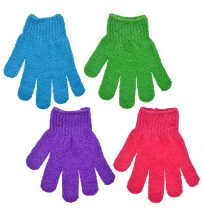 April Bath & Shower Exfoliating Bath Gloves