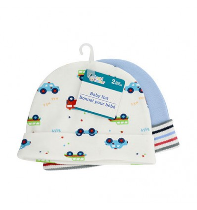 Angel of Mine Cotton Baby Hats, 2-ct. Packs