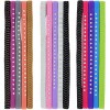 Basic Solutions Narrow Elastic Headwraps with Plastic Rhinestones, 5-ct. Packs
