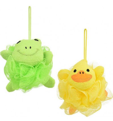Animal-Shaped Bath Sponges