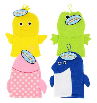 Soft Animal Bath Puppets