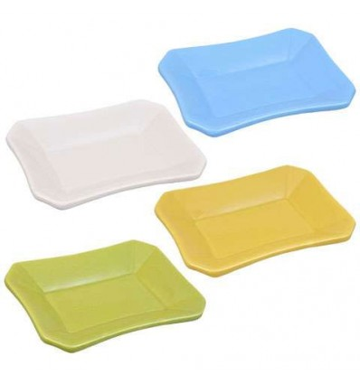 Solid-Color Dolomite Soap Dishes