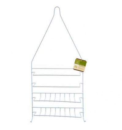 Home Collection Wire Shower Caddies with Plastic Coating