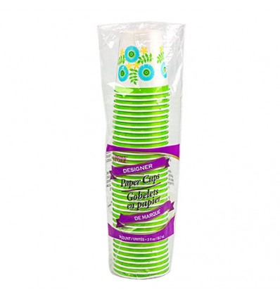 Home Store Designer Paper Cups, 3 oz., 36-ct. Packs