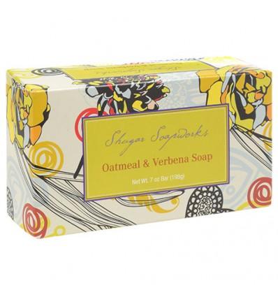 Shugar Soapworks Oatmeal & Verbena Soap, 7-oz. Bars