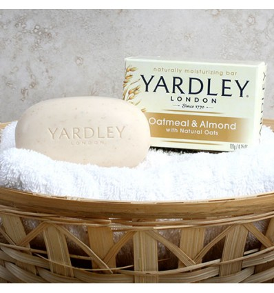 Yardley Oatmeal & Almond Soap, 4.25 oz.