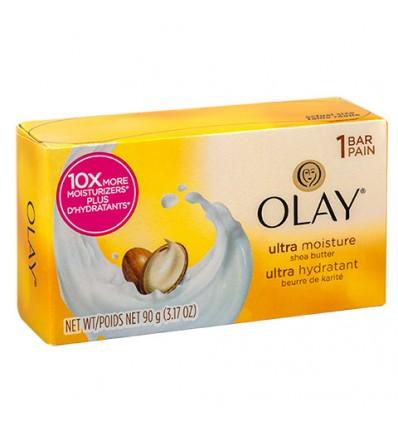 Olay Ultra Moisturizing Soap, 3.17-oz. Bars