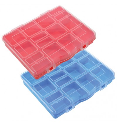 Crafter's Square Compartmented Plastic Boxes