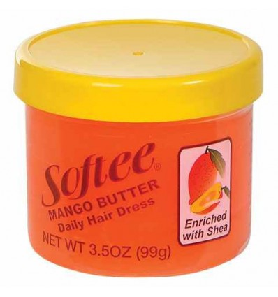 Softee Mango Butter Daily Hair Dress, 3.5-oz. Jars