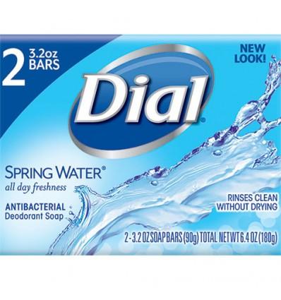 Dial Spring Water Antibacterial Soap, 2-ct. Packs