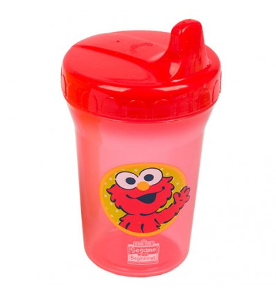 Sesame Street Sesame Beginnings Plastic Spill Proof Cups, 8 oz.