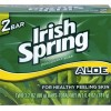 Irish Spring Soap Bars with Aloe, 2-ct. Packs