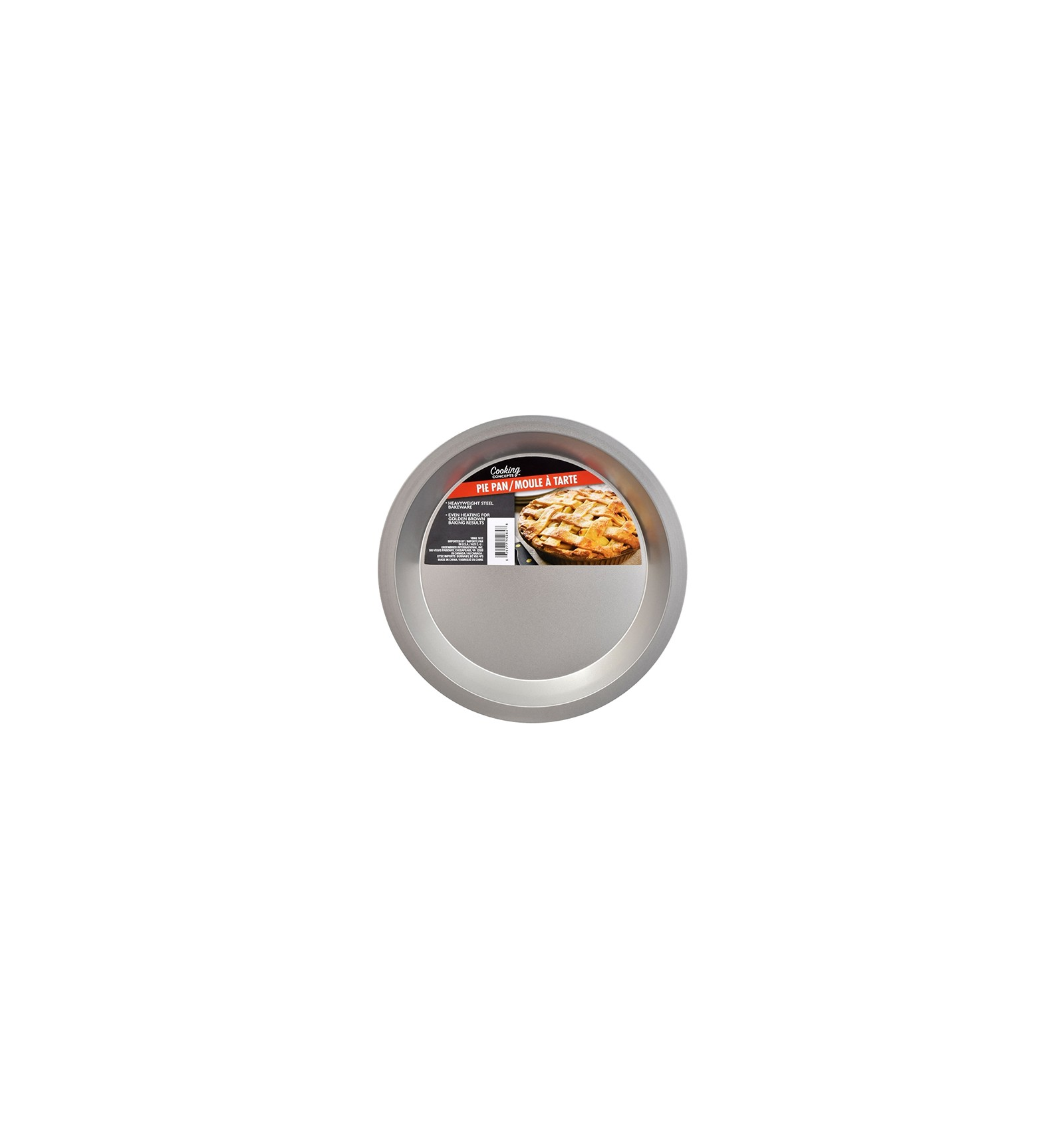 Brand New Cooking Concepts Pie Pans set of 2 9 in