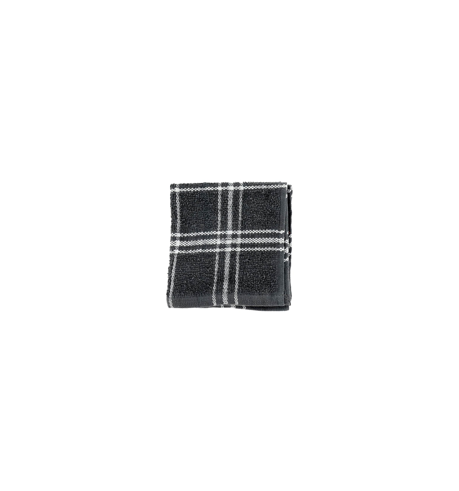 home collection gray plaid dish towels, 2-ct. packs