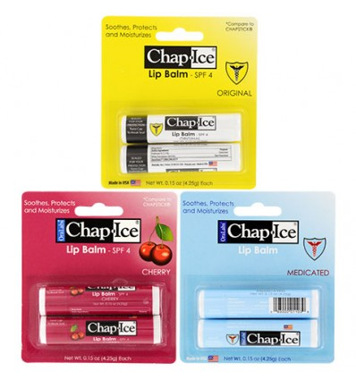 Oralabs Chap-Ice Lip Balms, 2-ct. Packs
